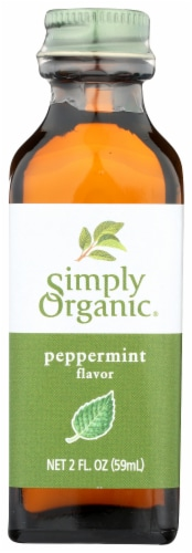 Simply Organic Peppermint Flavor Perspective: front