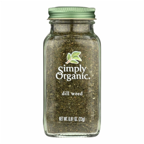 Simply Organic Dill Weed - Organic - .81 oz Perspective: front