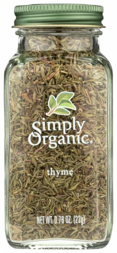 Simply Organic Thyme Leaf Perspective: front