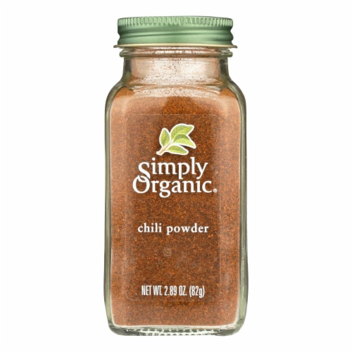 Simply Organic Chili Powder - Organic - 2.89 oz Perspective: front
