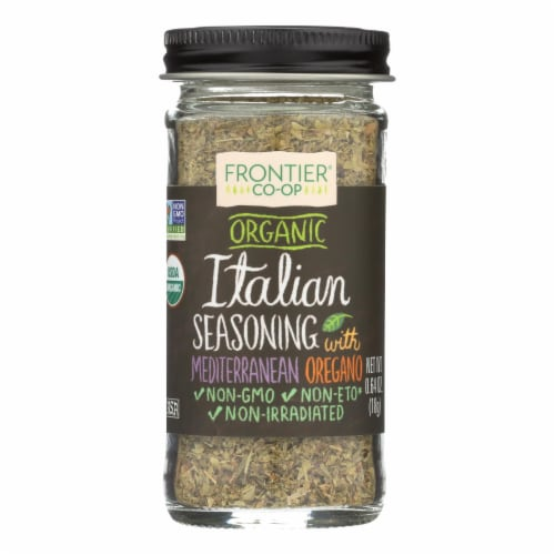 Frontier Herb Italian Seasoning Blend - Organic - .64 oz Perspective: front
