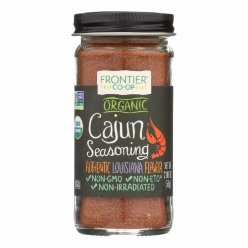 Frontier Herb Cajun Seasoning Blend - Organic - 2.08 oz Perspective: front