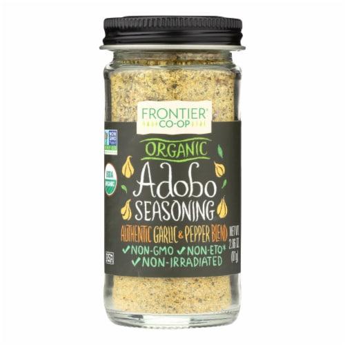 Frontier Herb Adobo Seasoning - Organic - 2.86 oz Perspective: front