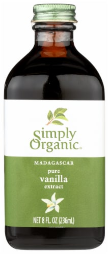 Simply Organic Pure Vanilla Extract Perspective: front