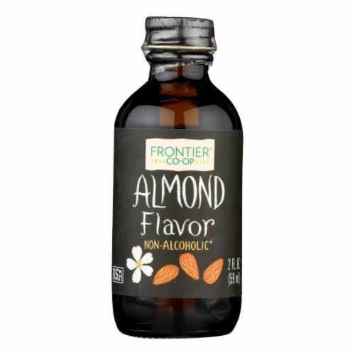 Frontier Herb Almond Flavor - 2 oz Perspective: front