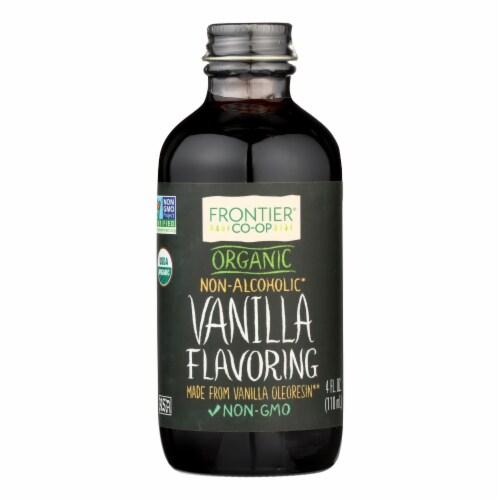 Frontier Herb Vanilla Flavoring - Organic - 4 oz Perspective: front