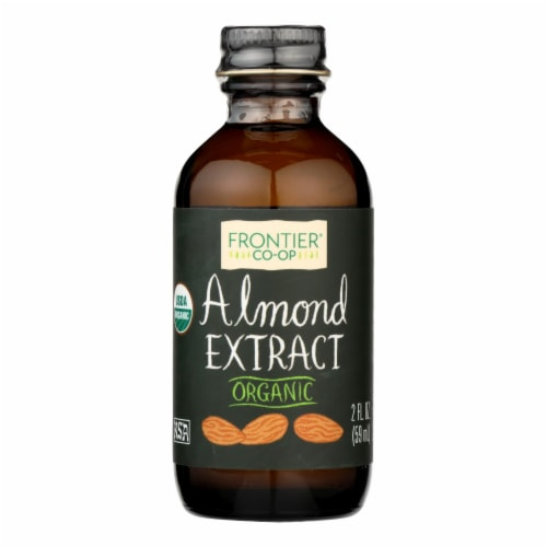 Frontier Herb Almond Extract - Organic - 2 oz Perspective: front