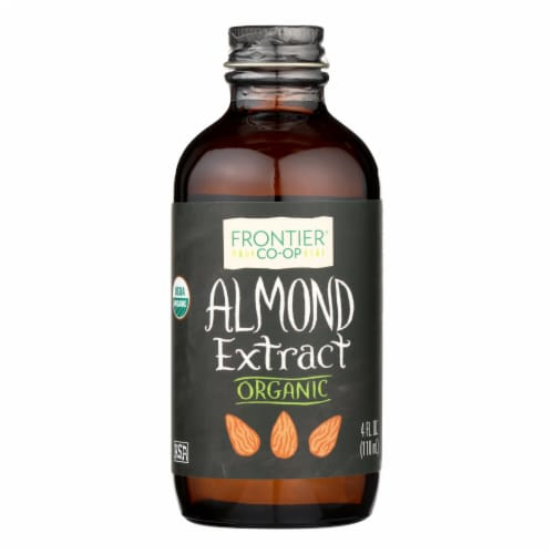 Frontier Herb Almond Extract - Organic - 4 oz Perspective: front