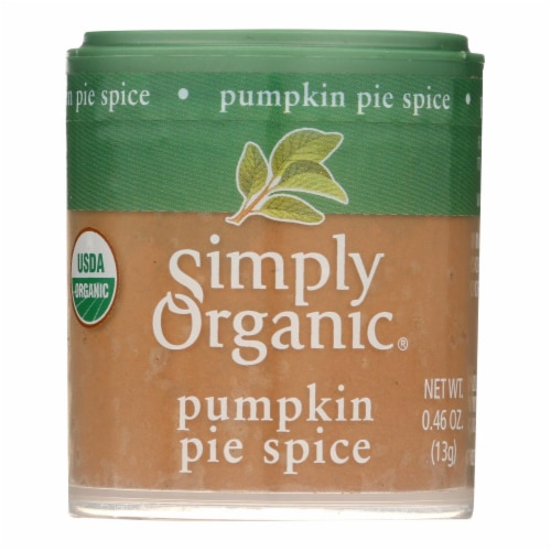 Simply Organic Pumpkin Pie Spice - Organic - .46 oz - Case of 6 Perspective: front