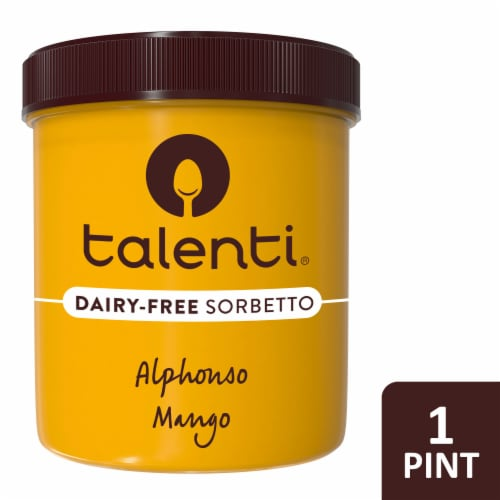 Talenti, Alphonso Mango, Pint (8 Count) Perspective: front