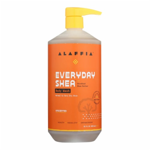 Everyday Shea Unscented Body Wash  - 1 Each - 32 OZ Perspective: front