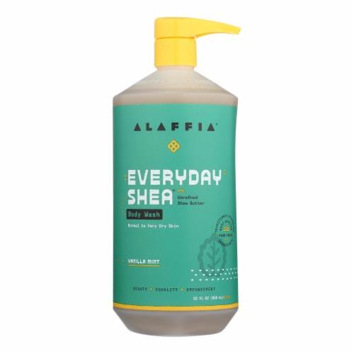Alaffia - Everyday Body Wash - Shea Vanilla - 32 oz. Perspective: front
