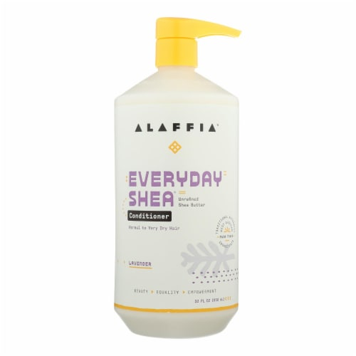 Alaffia - Conditioner - Shea Lavender - 32 oz. Perspective: front