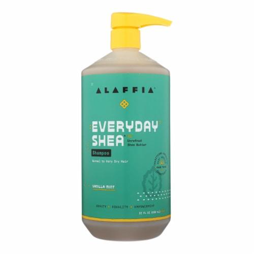 Alaffia - Shampoo - Vanilla Mint - 32 oz. Perspective: front