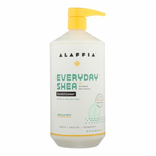 Everyday Shea Moisturizing Vanilla Mint Conditioner  - 1 Each - 32 OZ Perspective: front