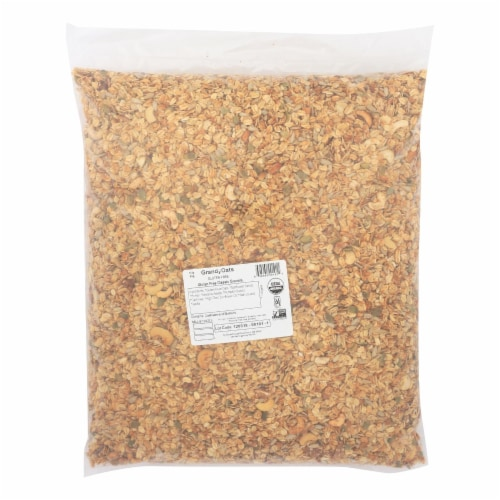 Grandy Oats Granola Gluten Free - Single Bulk Item - 10LB Perspective: front