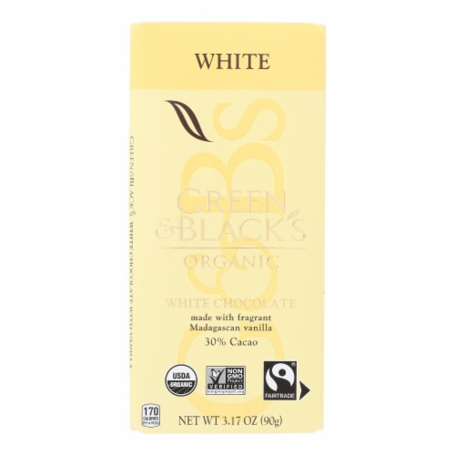Green & Black's - Chocolate White - Case of 10 - 3.17 OZ Perspective: front