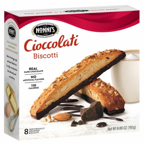 Nonnis Biscotti Cookies -- 150 per case. Perspective: front