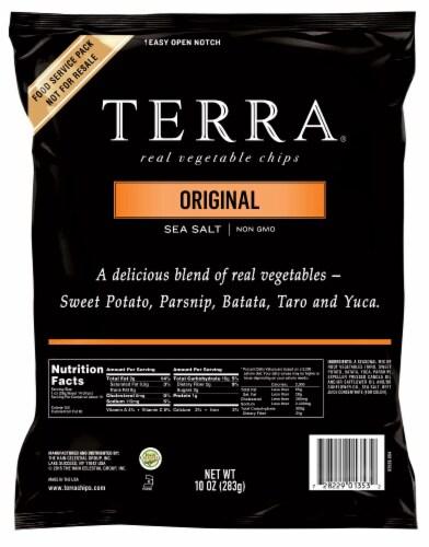 Terra Original Exotic Vegetable Chips - 10 oz. bag, 8 per case Perspective: front