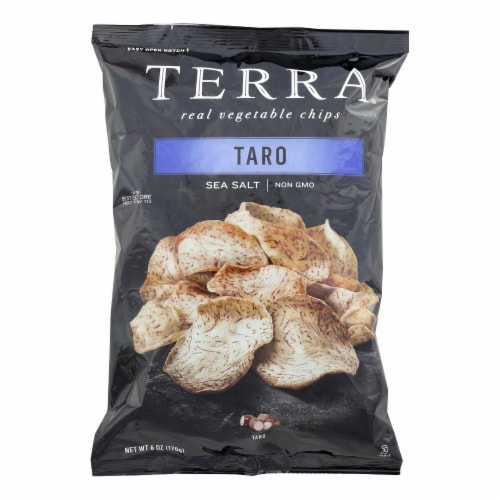 Terra Chips Chips - Exotic Vegetable - Taro - 6 oz - case of 12 Perspective: front