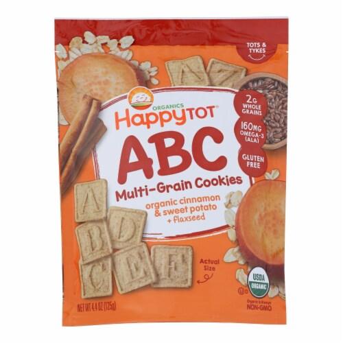 Happy Tot Toddler Snack, Cinnamon Sweet Potato  - Case of 8 - 4.4 OZ Perspective: front