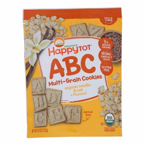 Happy Tot Toddler Snack, Vanilla Oat  - Case of 8 - 4.4 OZ Perspective: front