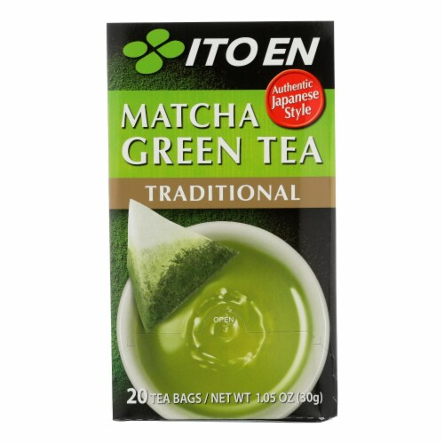 Matcha Green Tea  - Case of 6 - 20 BAG Perspective: front