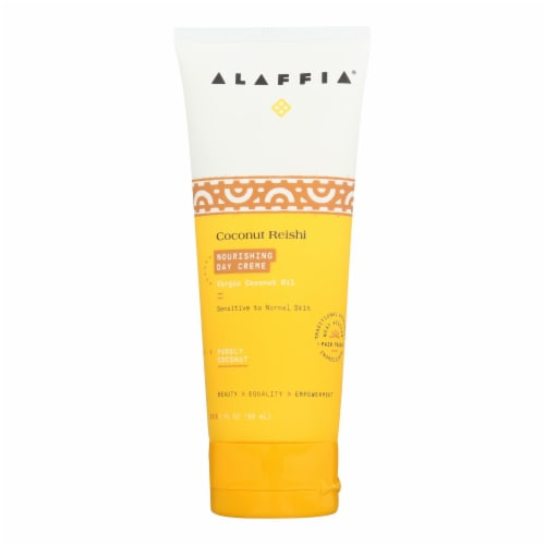 Alaffia - Day Cream - Nourishing Coconut - 3 fl oz. Perspective: front