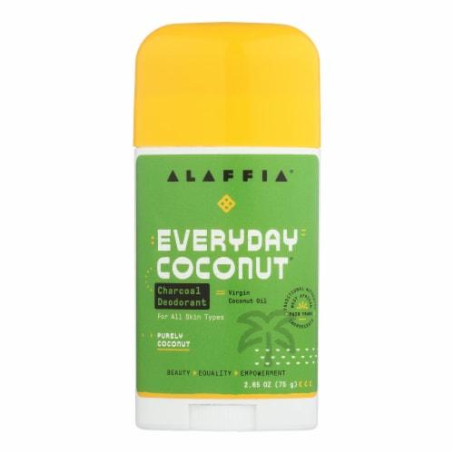 Alaffia - Deodorant - Coconut Reishi - 2.65 oz. Perspective: front