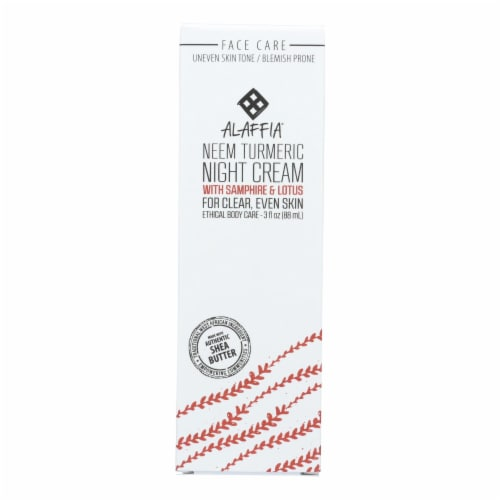 Alaffia - Night Cream Neem Turmeric - 1 Each - 3 FZ Perspective: front