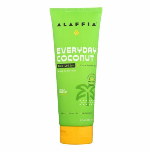 Alaffia - Body Lotion Purely Coconut - 1 Each - 8 FZ Perspective: front
