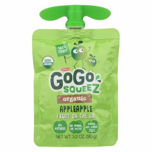 Gogo Squeez Applesauce - Case of 6 - 12/3.2OZ Perspective: front