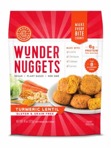 Wundernuggets Turmeric Lentil Plant Based Wunder Nuggets Perspective: front
