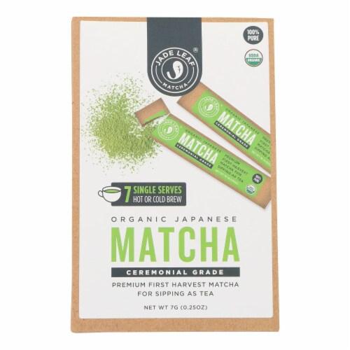 Jade Leaf Organics - Tea - Ceremonial Matcha - Case of 8 - 0.7 oz. Perspective: front