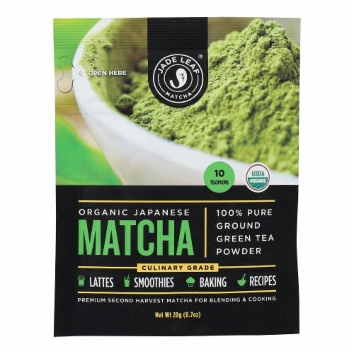 Jade Leaf Organics - Tea - Culinary Matcha - Case of 8 - 0.7 oz. Perspective: front
