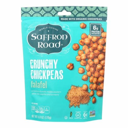 Saffron Road Crunchy Chickpeas - Falafel - Case of 12 - 6 oz. Perspective: front