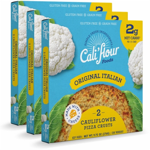 Cali'flour Foods Original Italian Pizza Crust Perspective: front