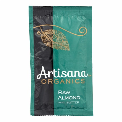 Artisana Organic Raw Almond Butter - Squeeze Packs - 1.06 oz - Case of 10 Perspective: front