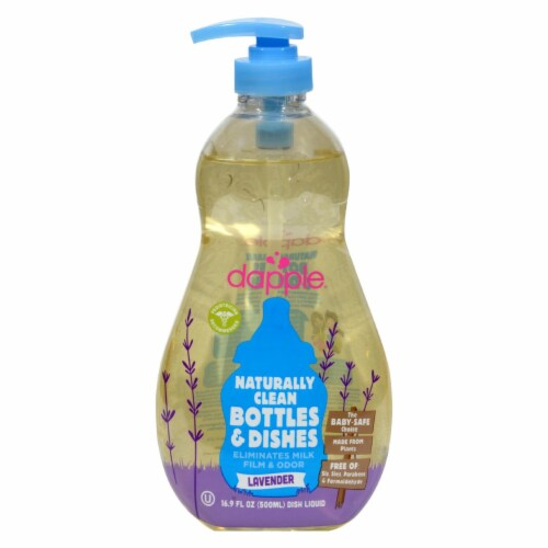 Dapple Baby Bottle and Dish Liquid - 16.9 fl oz Perspective: front