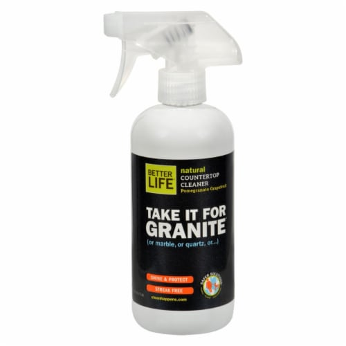 Better Life Stone Countertop Cleaner - 16 fl oz Perspective: front