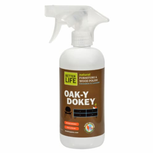 Better Life Oaky Doky Wood Cleaner and Polish - 16 fl oz Perspective: front