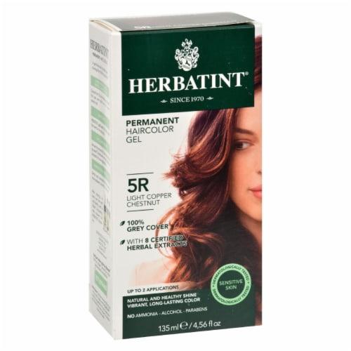 Herbatint Permanent Herbal Haircolour Gel 5R Light Copper Chestnut - 135 ml Perspective: front