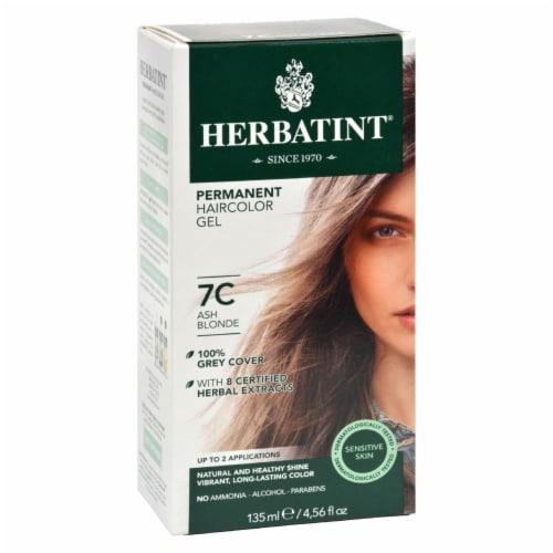 Herbatint Permanent Herbal Haircolour Gel 7C Ash Blonde - 135 ml Perspective: front