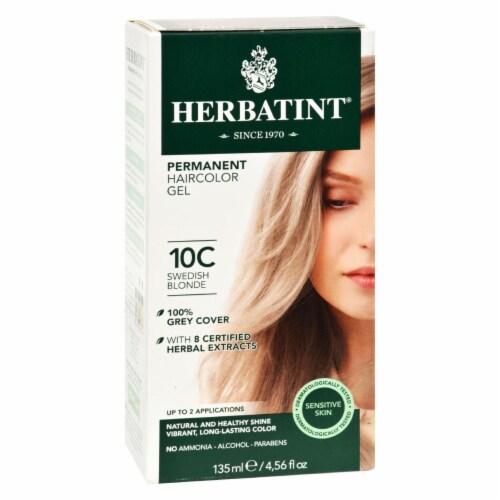 Herbatint Haircolor Kit Ash Swedish Blonde 10C - 1 Kit Perspective: front