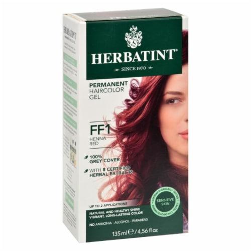 Herbatint Haircolor Kit Flash Fashion Henna Red FF1 - 1 Kit Perspective: front