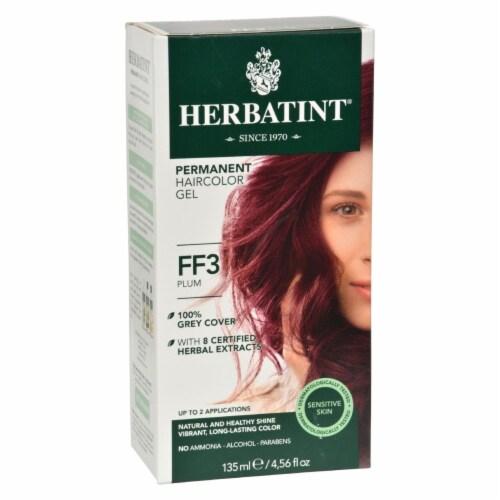 Herbatint Haircolor Kit Flash Fashion Plum FF3 - 1 Kit Perspective: front