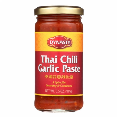 Dynasty Garlic Paste - Thai Chili - Case of 12 - 6.5 oz. Perspective: front