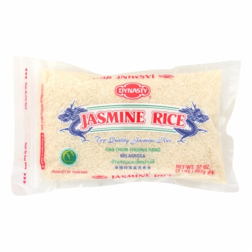 Dynasty Rice - Jasmine - Case of 12 - 2 lb. Perspective: front