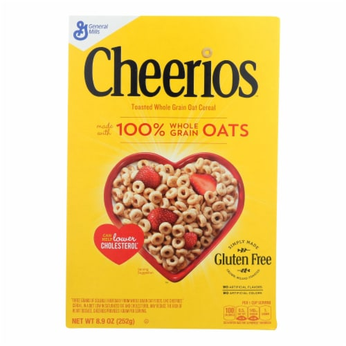 General Mills Cereal Whole Grain Oat  - Case of 12 - 8.9 OZ Perspective: front