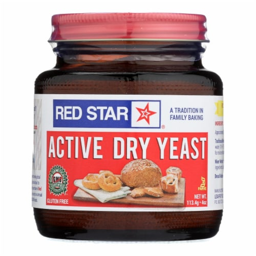 Red Star Nutritional Yeast Yeast - Active - Dry - Case of 12 - 4 oz Perspective: front